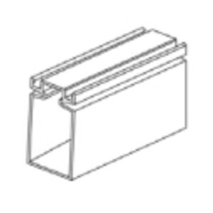 """1"""" x 2"""" extruded frame"""