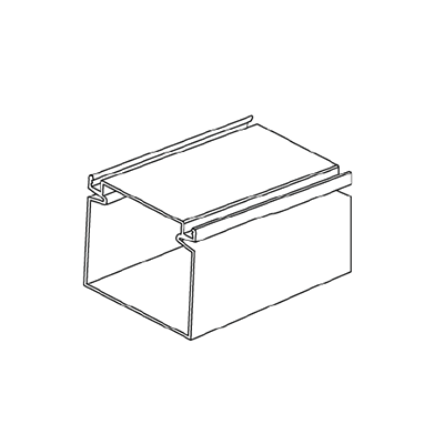 2x2 extruded frame